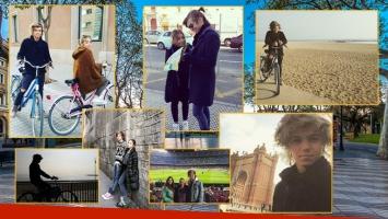 Las vacaciones de Franco Masini en España (Foto: Instagram)