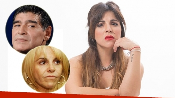 Gianinna Maradona reflexionó sobre la batalla legal que enemistó a sus padres (Foto: web)