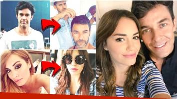 El cambio de look de Lali Espósito y Mariano Martínez (Fotos: Instagram)