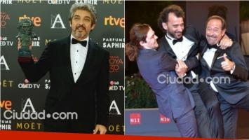 Ricardo Darín, Truman y El Clan triunfaron en los Premios Goya 2016. Foto: AFP