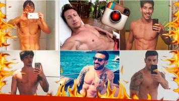Los famosos, a puro músculo y testosterona en Instagram: mirá sus fotos súper hot. Foto: Instagram