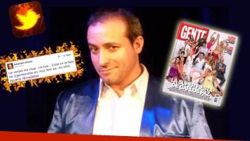 Sebastián Almada arremetió furioso por la tapa de la revista Gente. (Foto: Web)