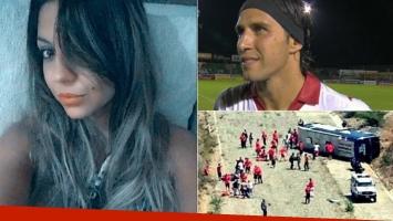 Tamara Alves, tras la operación en el pie izquierdo de Toranzo (Foto: Twitter y Web)