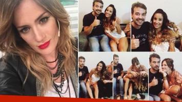Pedro Alfonso, Lourdes Sánchez, Paula Chaves y una divertida secuencia de imágenes a puro celos. (Foto: Instagram)
