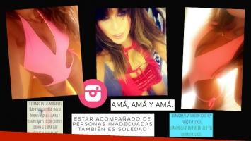 Loly Antoniale, fotos súper sexies en Instagram… y enigmáticos mensajes. (Foto: Instagram)