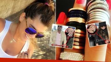 Loly aclaró que no usa el anillo de compromiso con Rial (Foto: Instagram y Ciudad.com)