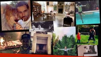 La increíble casa de Gonzalo Heredia y Brenda Gandini en Pilar. (Foto: Instagram)