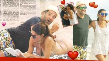 Mariano Iúdica y Romina Propato, más enamorados que nunca y con deseos de agrandar la familia (Fotos: revista Pronto)