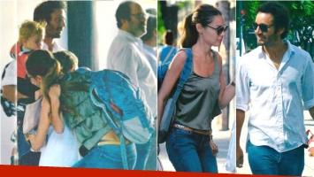 La primera foto Pampita y Vicuña después del escándalo. Foto: Gente
