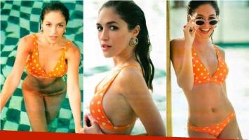 Candela Vetrano, sexy en bikini y confesión sobre sus lolas. Foto: Gente