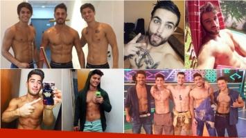 Los chicos de Combate, dioses de Instagram: sus fotos más hot. Foto: Instagram