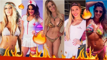 Las fotos más sexies en Instagram de las chicas de Combate. Foto: Instagram