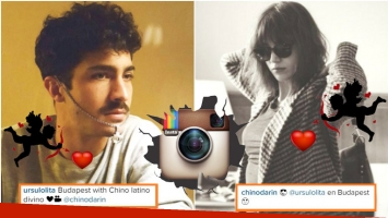El Chino Darín y Úrsula Corberó, un amor 2.0 (Fotos: Instagram)