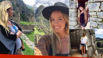 Rocío Guirao Díaz lució su embarazo de 4 meses y medio en Perú (Foto: Instagram)