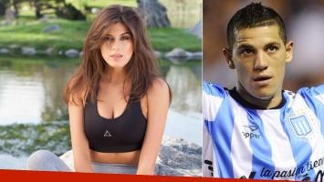 Loly Antoniale y los rumores de affaire con el futbolista Carlos Núñez (Foto: Web)