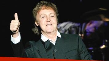 Paul McCartney regresa a la Argentina en mayo de este año (Foto: Web)