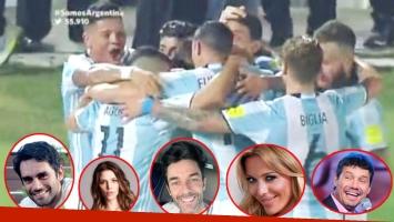 Los mensajes de los famosos en Twitter tras el triunfo de Argentina ante Chile (Fotos: Captura y Web)