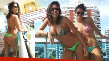 Las primeras fotos de Ivana Nadal tras el escándalo por la filtración de sus imágenes hot (Fotos: Instagram)