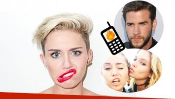 Miley Cyrus le quiso mandar un mensaje hot a Stella Maxwell… ¡y se lo mandó a Liam Hemsworth! (Foto: Web)