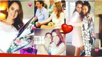 Se casó Florencia Ortiz (Fotos: Instagram)