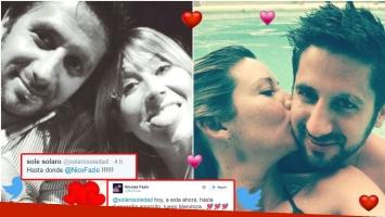 Soledad Solaro, nuevamente enamorada de Nicolás Fazio (Fotos: Twitter)