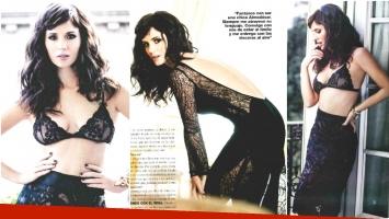 La producción sexy de Griselda Siciliani para la revista Gente (Fotos: revista Gente)