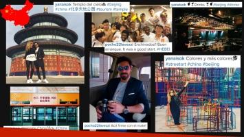 Las fotos de la nueva vida del Pocho Lavezzi en China junto a Yanina Screpante. (Foto: Instagram)