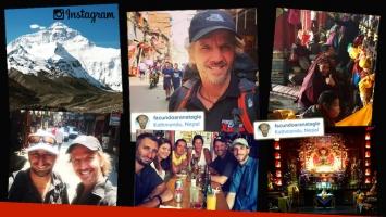 El álbum de fotos de Facundo Arana en Nepal y Tibet. (Foto: Instagram)