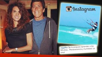 Nicolás Repetto y su incursión en un nuevo hobby extremo. (Foto: Instagram)