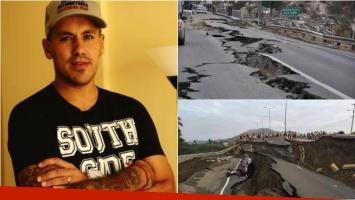 El Ogro Fabbiani twitteó sobre el terremoto en Ecuador. Foto: Twitter/ Web