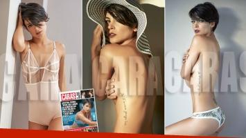 Agustina Cherri, una diosa de tapa al desnudo. (Foto: revista Caras)