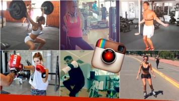 Los famosos, a puro sudor en Instagram. Foto: Instagram