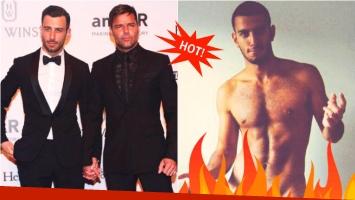 Se filtra una foto prohibida de Jwan Yosef, el novio de Ricky Martin. Foto: Twitter/ Web