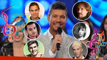 Marcelo Tinelli apuesta a los cantantes. (Foto: Web)