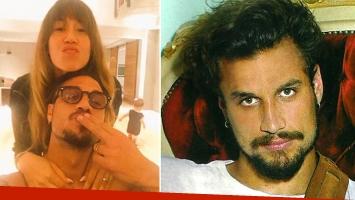 La cuenta @anti_boti publicó dos fotos prohibidas de Daniel Osvaldo, desnudo en una cama y en un baño. (Fotos: archivo Web y Gente)