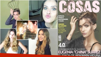 La China Suárez habló de su relación con Benjamín Vicuña en un medio chileno (Fotos: Instagram y Captura)