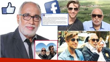El agradecimiento de El Negro González Oro tras presentar a su novio Tato (Fotos: Web e Instagram)