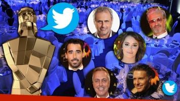 Los tweets de los famosos en los Martín Fierro 2016: fotos,