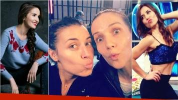 Natalia Oreiro y Mariana Brey en una selfie sin maquillaje en la previa de los Martín Fierro. Foto: Web/ Twitter
