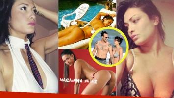 Las fotos hot de Macarena Pérez, exnovia de Leonardo Fariña, la nueva participante de Gran Hermano 2016. Foto: Web