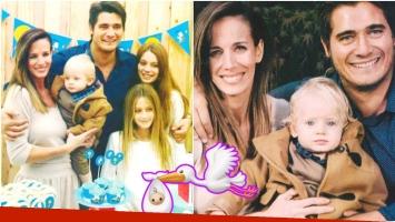 Guillermo Andino y su mujer buscan un hermanito para Ramón (Fotos: revista Pronto)