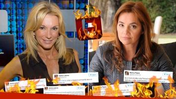 Tremenda pelea twittera entre Yanina Latorre y Nancy Pazos. (Foto: Web)