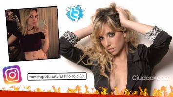 Tamara Pettinato, su foto ratonera en ropa interior ¡que se convirtió en TT! (Foto: Web)
