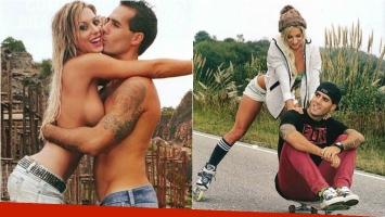 Noelia Marzol y su novio Matías Bruland, amor sobre ruedas. Foto: Caras