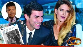 Tinelli anunció en Twitter el casamiento de Isabel Macedo y Juan Manuel Urtubey. Foto: Web