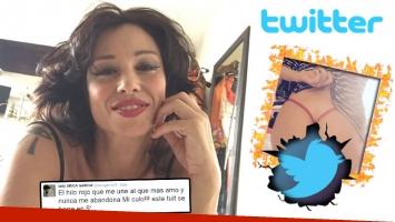 La foto hot de Erica García que revolucionó Twitter. (Foto: Twitter)