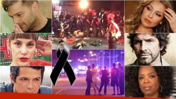 Dolor por la masacre de Orlando: los mensajes de los famosos. Foto: Web