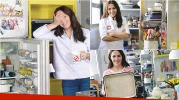 Narda Lepes abrió las puertas de su cocina. Foto: Gente