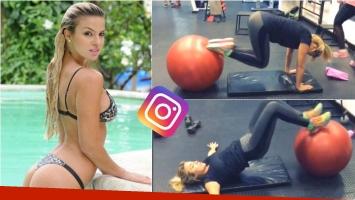 La exigente rutina (sexy) de Ailén Bechara. Foto: Instagram/ Web