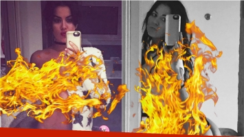 Escándalo en Twitter: filtraron fotos prohibidas de Karina Jelinek. Foto: Instagram